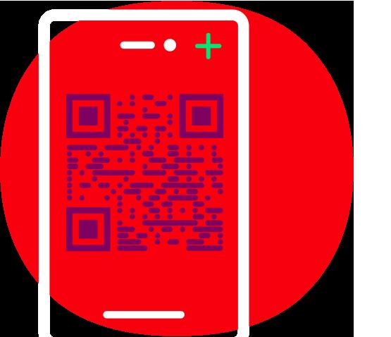 Gerätwechsel per QR-Code Icon