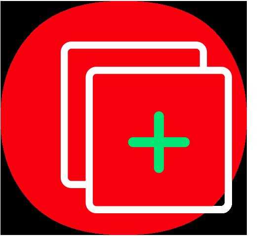 Zusätzliche Features Icons