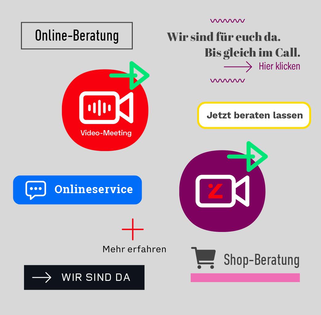Verschiedene Call Buttons