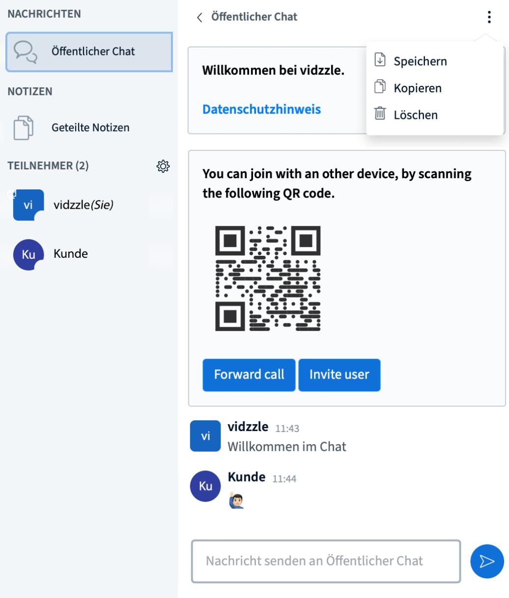 Screenshot Chat