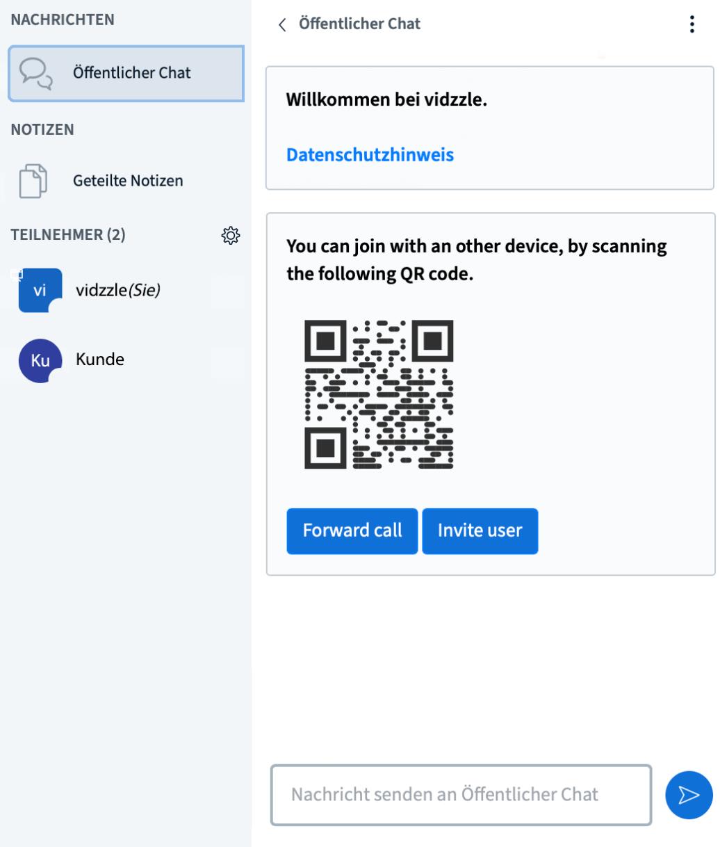 Screenshot QR-Code